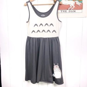 Totoro Studio Ghibli Cosplay Tank Swing Dress XL